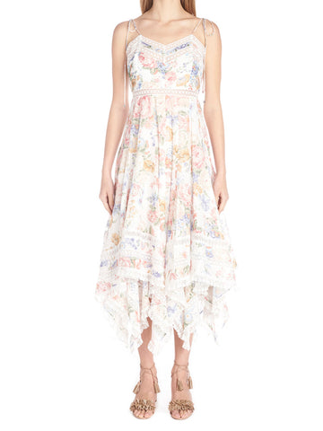 Zimmermann Flutter Floral Dress