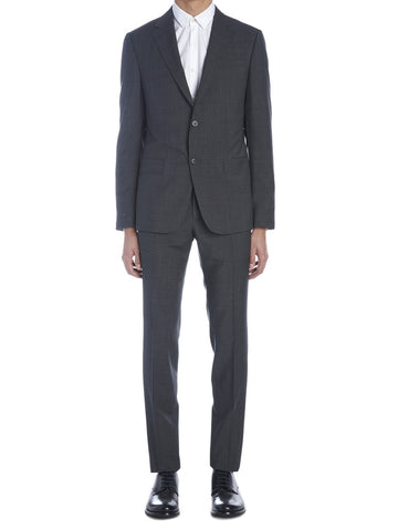 Z Zegna Plain Button Suit