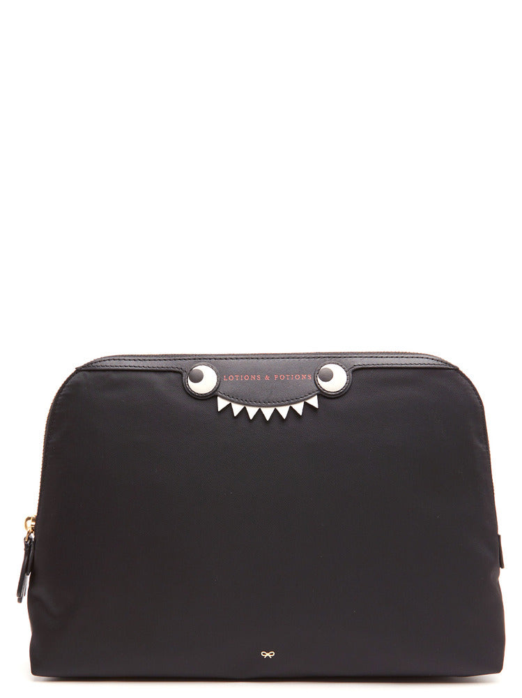 ANYA HINDMARCH ANYA HINDMARCH MONSTER LOTIONS AND POTIONS POUCH