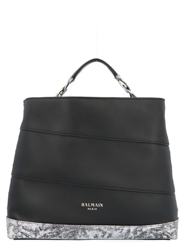 Balmain Polygon Trapeze Tote Bag