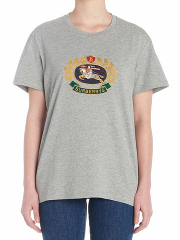 Burberry Embroidered Vintage Logo T-Shirt