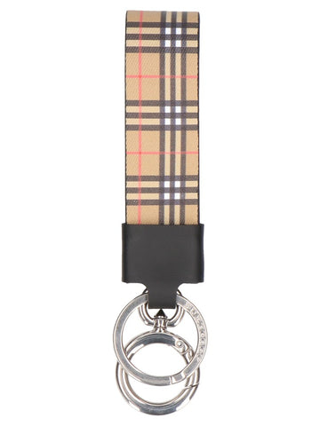 Burberry Check Keyring