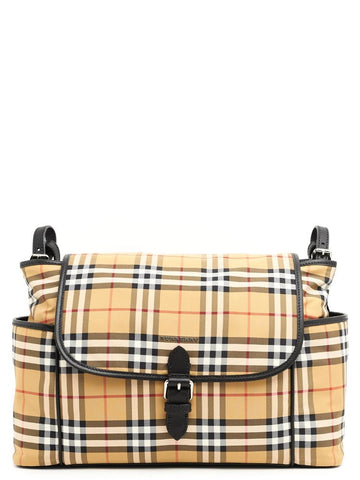 Burberry Checked Baby Changing Bag