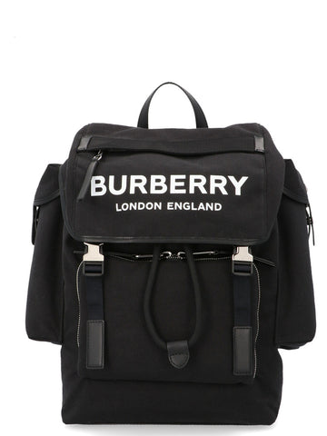Burberry Medium Logo Detail Backpack
