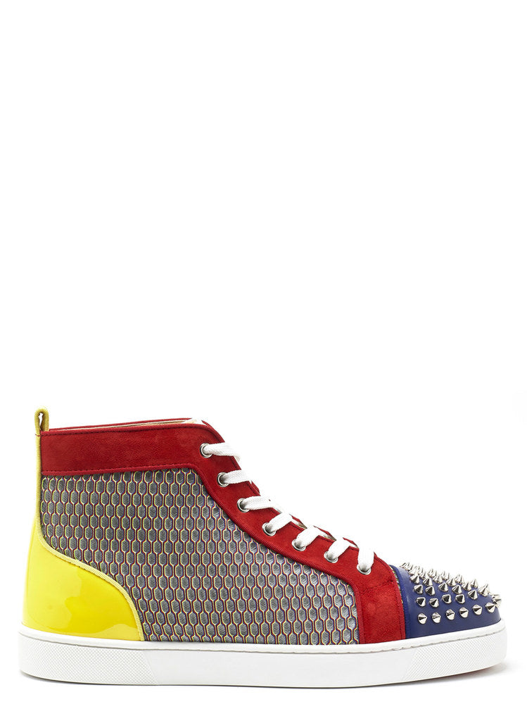 Christian Louboutin Colourful Hi-Top Sneakers