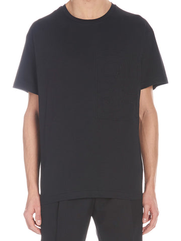 Dior Homme Logo Embroidered T-Shirt