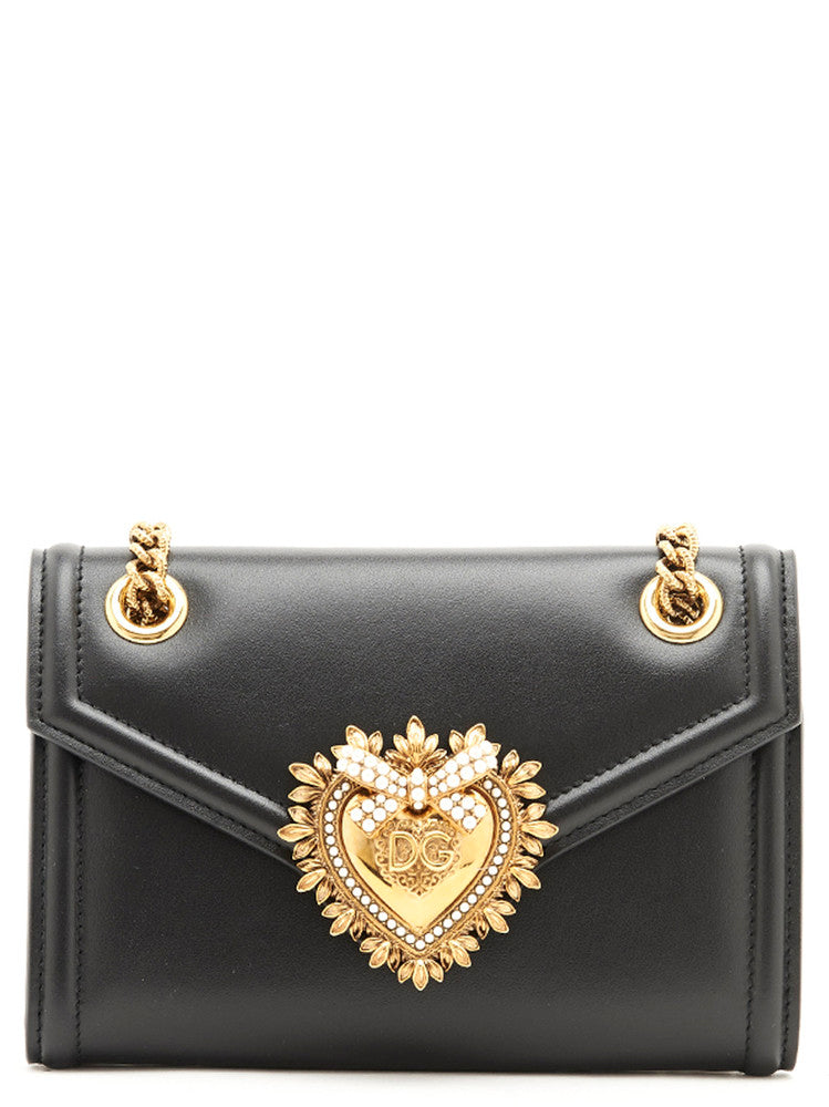 Dolce   Gabbana Mini Devotion Shoulder Bag – Cettire 0e6020a53254d