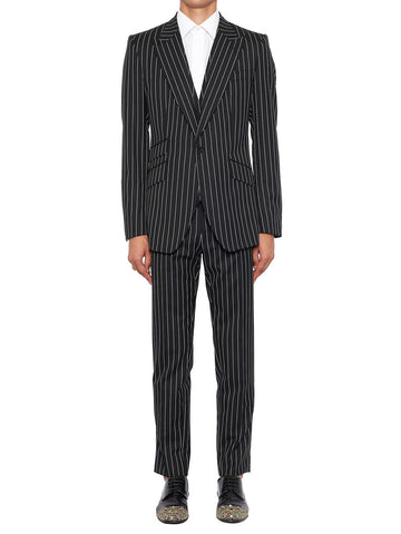 Dolce & Gabbana Sicilia Three Piece Pinstriped Suit