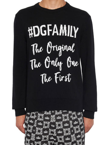 Dolce & Gabbana DG Family Sweater
