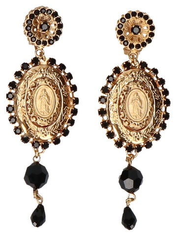 Dolce & Gabbana Embellished Drop Earrings