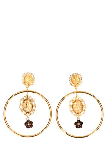 Dolce & Gabbana Madonna Drop Earrings