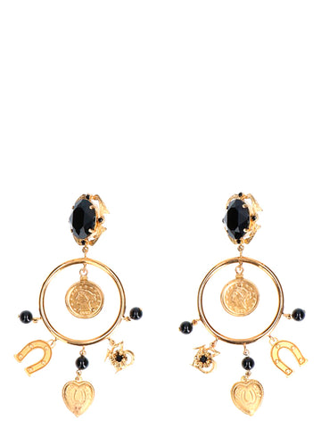 Dolce & Gabbana Lucky Charms Earrings