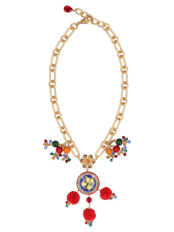 Dolce & Gabbana Majolica Necklace