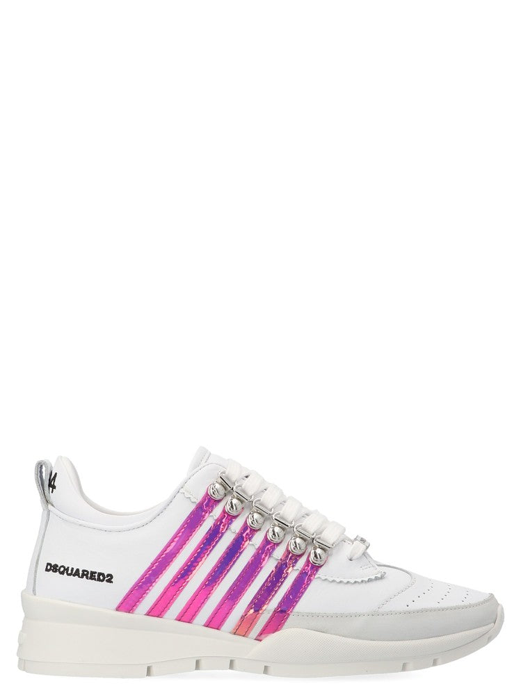 Dsquared2 Holographic Stripe Sneakers