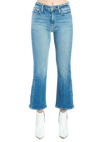 Frame Le Crop Mini Boot Snap Away Jeans