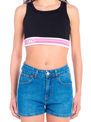 GCDS Cropped Sports Top