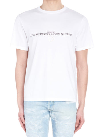 Golden Goose Deluxe Brand Reversed Logo T-Shirt