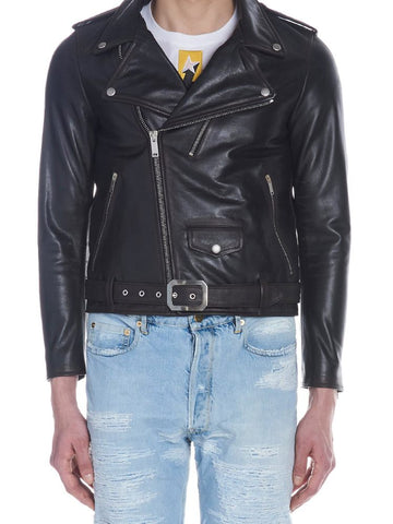Golden Goose Deluxe Brand Biker Leather Jacket