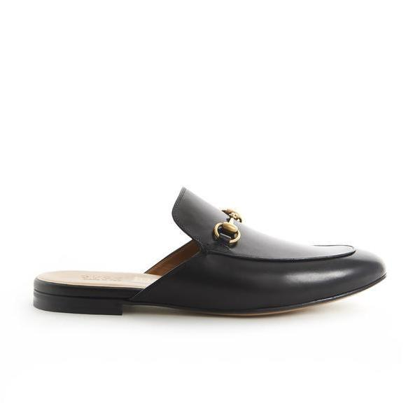 2a4cddfede95 Gucci Leather Horsebit Slippers – Cettire