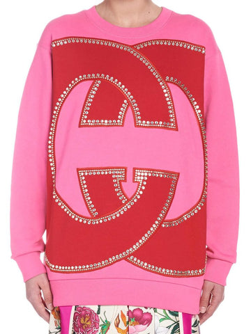 Gucci Embellished Logo Sweater