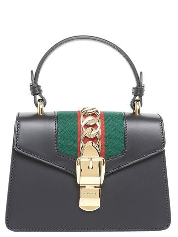 Gucci Mini Sylvie Top Handle Bag