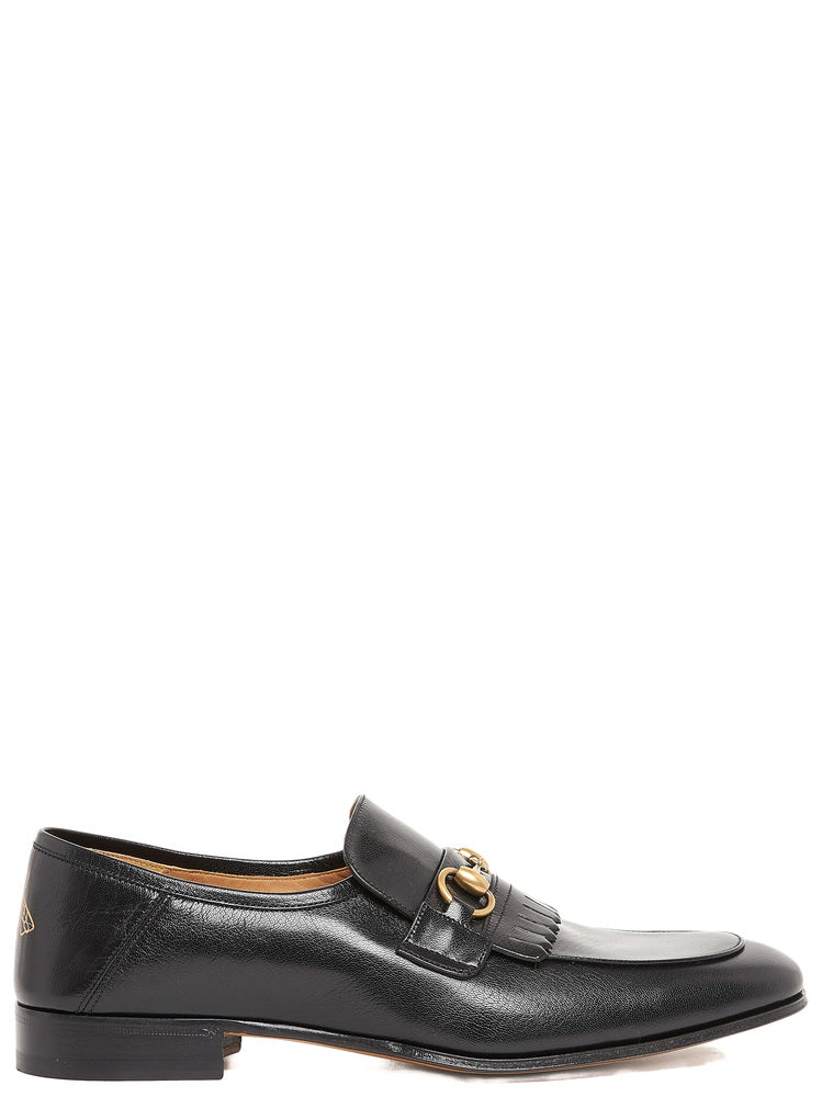 Gucci Fringed Horsebit Loafers