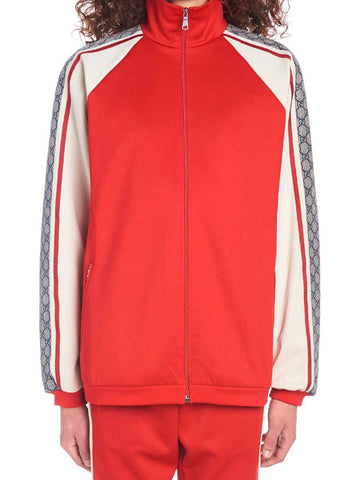 Gucci Oversize Technical Logo Band Jacket