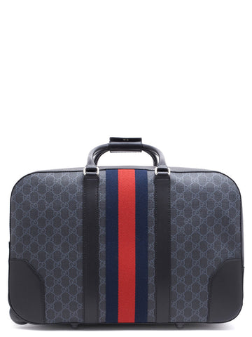 7c4e888e713786 Gucci GG Supreme Duffle Bag with Wheels