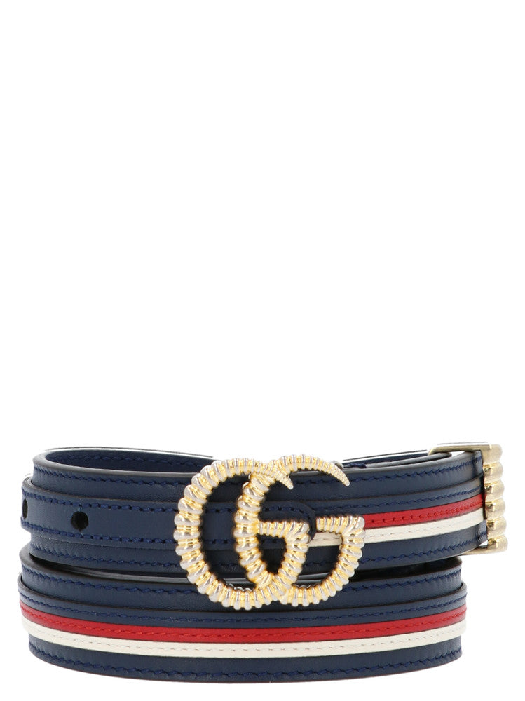 66a6be34d Gucci Torchon Double G Buckle Belt – Cettire