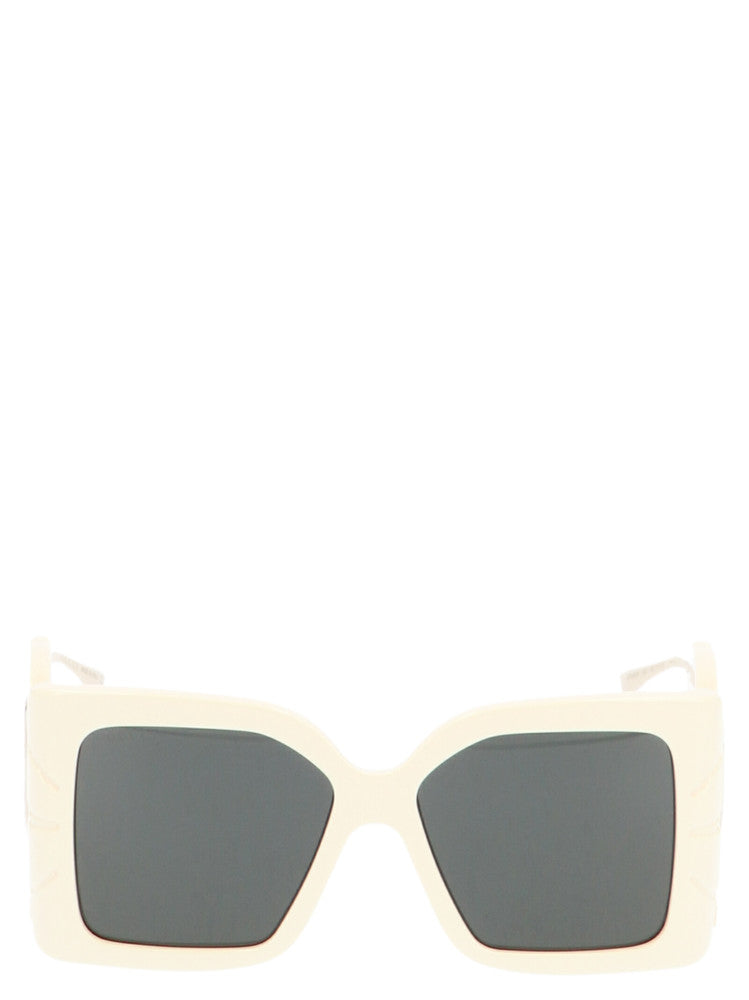 Gucci Eyewear Square Sunglasses In White