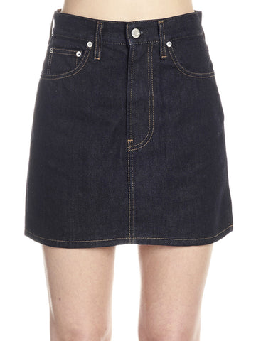 Helmut Lang High-Waisted Mini Skirt
