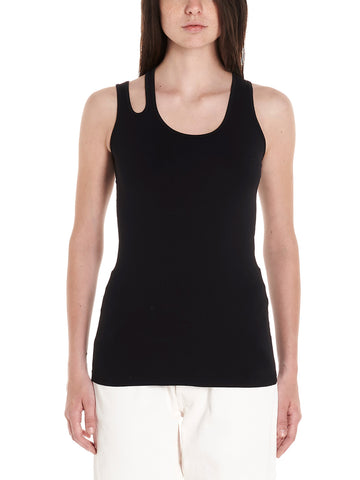 Helmut Lang Slashed Seamless Tank Top
