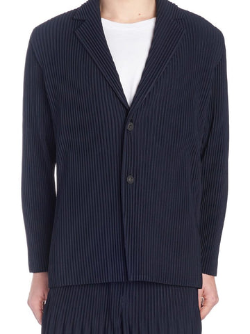 Homme Plissé Issey Miyake Ribbed Cardigan
