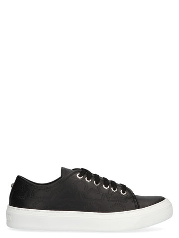 Jimmy Choo Aiden Low-Top Lace-Up Sneakers