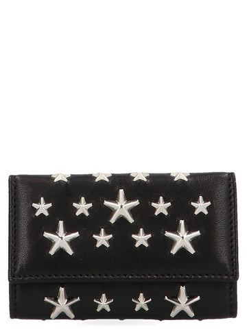 Jimmy Choo Neptune Star Key Holder Wallet