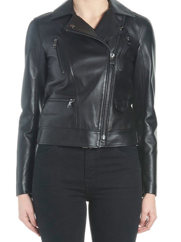 Karl Lagerfeld Biker Leather Jacket