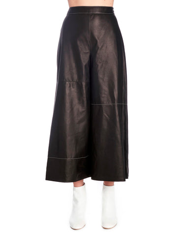 Loewe Coulotte Leather Pants