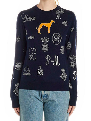 Loewe Patterned Knit Pullover