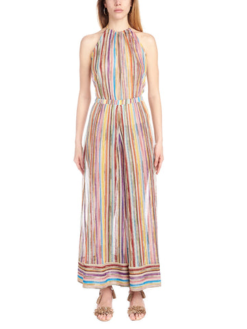 Missoni Mare Striped Halterneck Jumpsuit