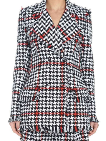 MSGM Houndstooth Jacket