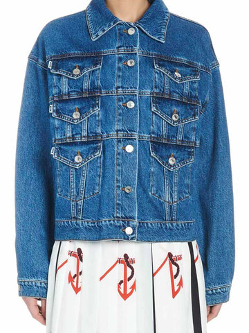 Msgm Multi Pockets Denim Jeans