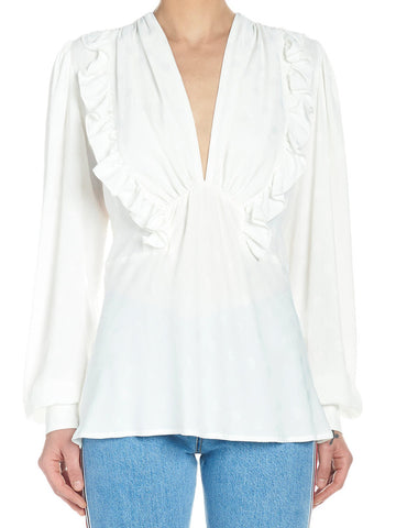 Msgm Ruffled Blouse