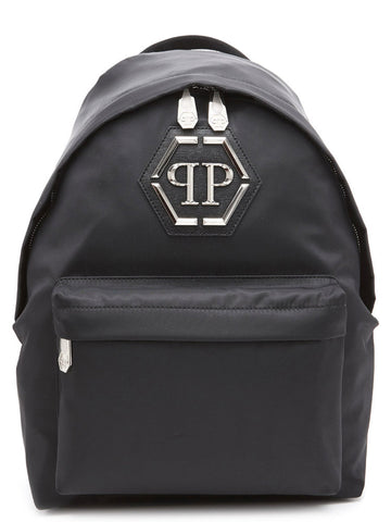 Philipp Plein Logo Embossed Backpack