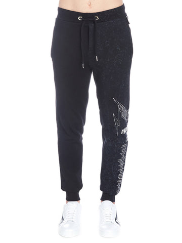 Philipp Plein Logo Sweatpants