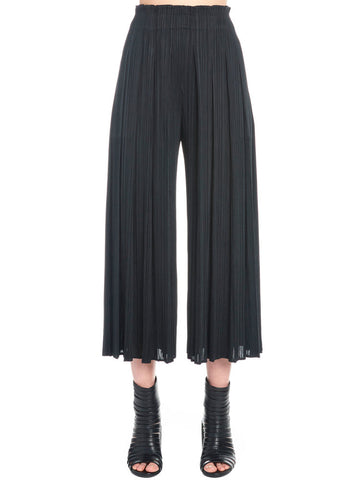 Pleats Please By Issey Miyake Pleated Cropped Pants