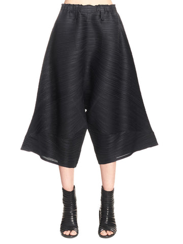 Pleats Please By Issey Miyake Ticker Bounce Pants