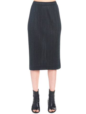 Pleats Please By Issey Miyake Micro-Pleat Midi Skirt