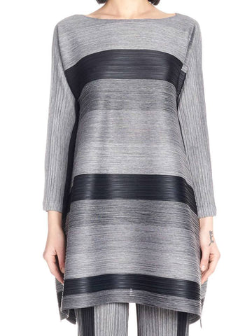 Pleats Please By Issey Miyake Flared Dress
