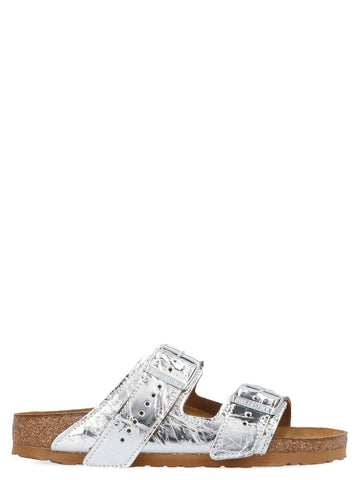 Rick Owens X Birkenstock Arizona Laminated Sandals