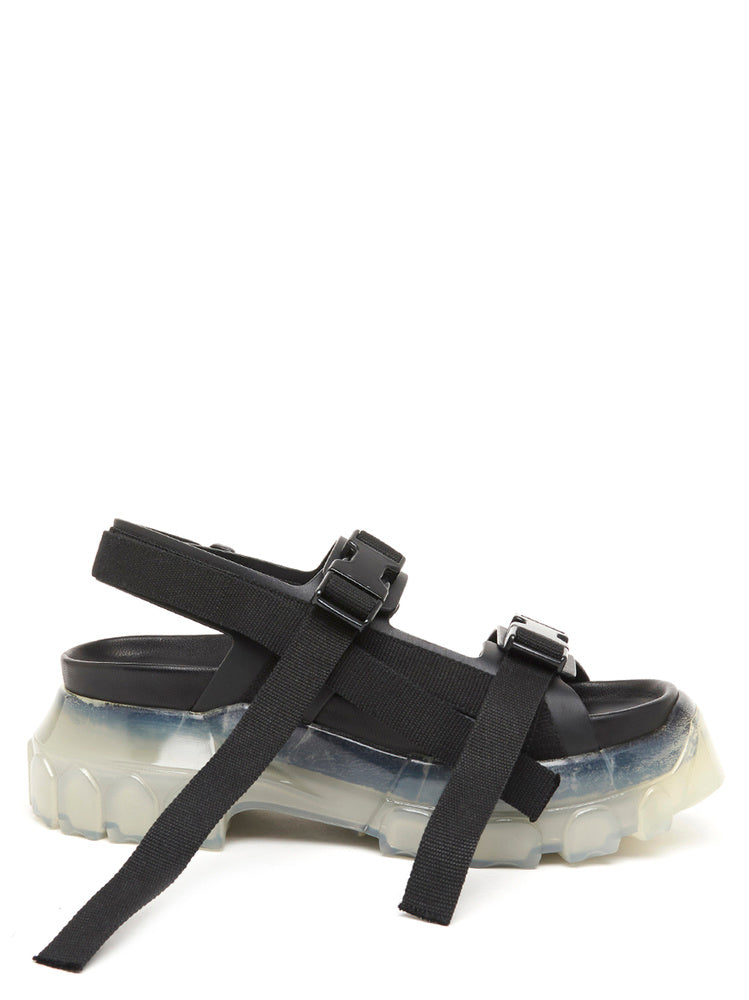 4358be31ac33 Rick Owens Tractor Strap Sandals – Cettire